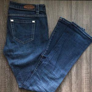 Infusion Denim Dark Blue Jeans Women 28
